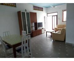 A louer appartement meuble de 2 chambres salon, climatise et ventile