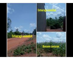 13 Parcelles à vendre dans la commune d'Abomey-Calavi à Kanzounkpa précisément.