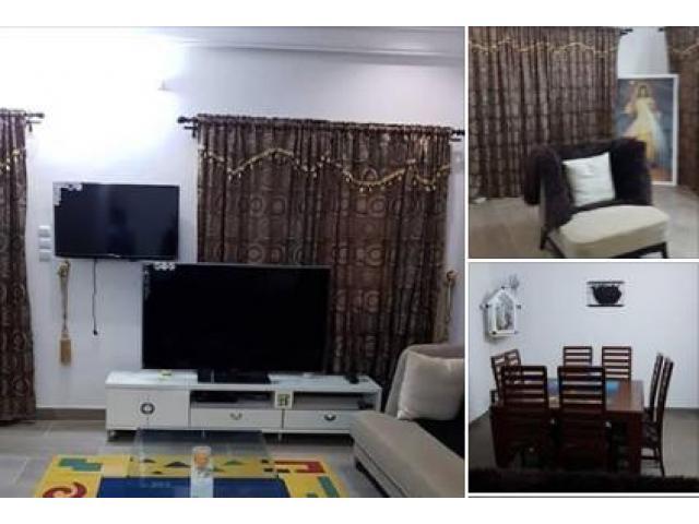 Appartements meublee de type 1chambre salon, 2chambres salon et 3 chambtres