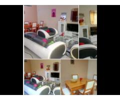Appartement meublé de haut standing composé de 3 chambres un salon au 1er étage