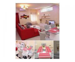 un appartement composée de 3 chambres un salon sanitaire  au quartier sikecodji