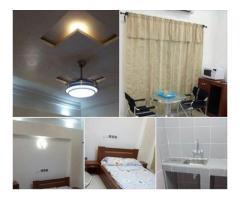 Studio sanitaire meublé très très propre dans un bel immeuble à Aibatin