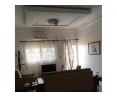 Appartement meublé très propre climatisé composé de 2 chambres un salon sanitaire