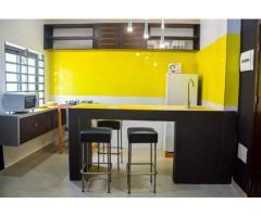 Appartement meublé de haut standing une chambre salon sanitaire une cuisine