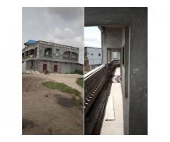 Nouvelle construction d'une maison locative R+1 composée de 6 chambres