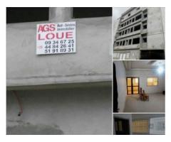 location des appartements de 3 pièces avec parking intérieur,nouvelle construction.