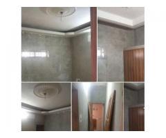 Nichel chambre salon a couloir,nouvelle construction au 1er a gbèdégbé