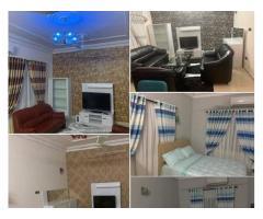 Appartements meublée climatisé de 2 chambres salon, haut standing très chic