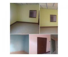 Une entrée personnelle de 2 chambres nouvelle construction à agla aplomey