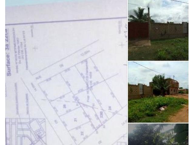 VENTE DE TERRAIN CLOTURÉ Sis à Adidogomé Sagbado
