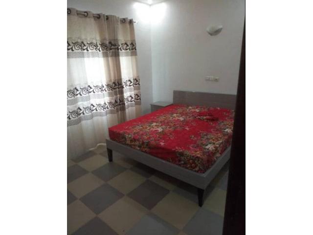 Met en location un Appartement meublée climatisé de deux chambres salon sanitaire