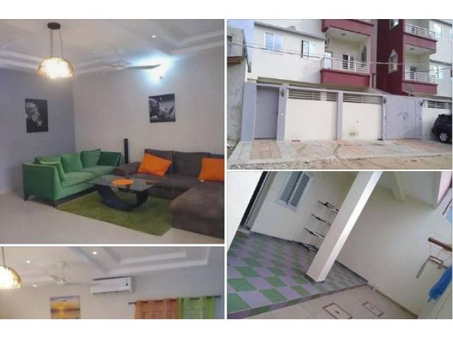 Appartement meublée climatisé Entré personnelle de 2 chambres salon