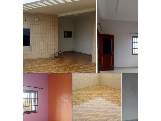 Appartement de 2 chambres salon sanitaire staffé bon standing luxueuse