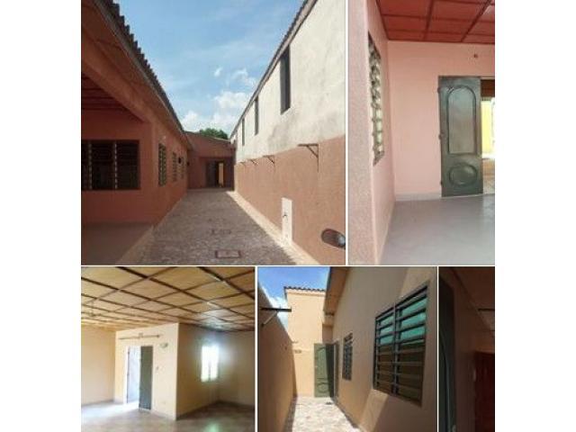 2chambres salon, nouvelle construction avec deux douches et toilette visiteur