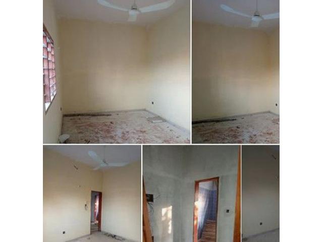 Togoudo Chambres salon sanitaire dallée à couloir nouvelle construction