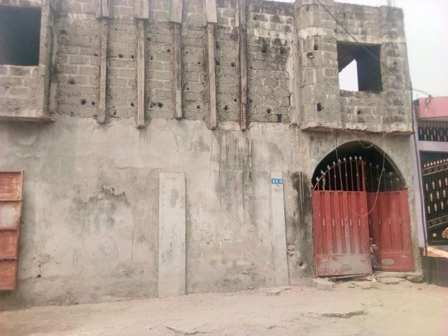 À vendre à Cotonou - Akpakpa quartier Minontchou, une maison locative de R+1