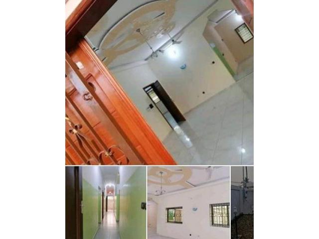 Godomey Pk14 une villa de 3 chambres salon sanitaire Nouvelle constructio