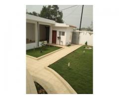 Villa Haut Standing duplex avec jardin à Louer à la CEN-SAD d'Akpakpa Cotonou Bénin