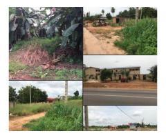 VENTE TERRAIN PLAT DE  1300m2: A SONGON Zone: Non loin de la Préfecture de Songon