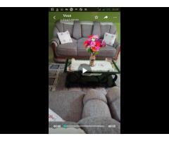 Villa meublée au bord des pavés à Cocotomey avec TF en cours à vendre