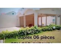 Une Villa duplex avec piscine de haut Standing, composée de 04 chambres