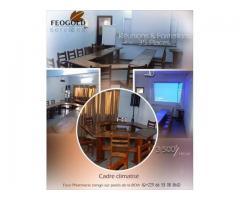 Un cadre climatisé et équipé pour vos réunions et formations